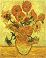 Fourteen Sunflowers in a Vase, 1889, (JH 1666) oil on canvas, 40 x 30.4 in / 101.6 x 77.3 cm, US$400