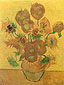 Vincent van Gogh, Still Life: Vase with Fourteen Sunflowers, 1889, oil on canvas, 37.4 x 28.7 in. / 95 x 73 cm, US$380