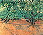 Vincent van Gogh, Olive Trees, 1889, oil on canvas, 21.1 x 25.2 in. / 53.5 x 64 cm, US$280