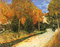 Vincent van Gogh, The Public Park at Arles, 1888, oil on canvas, 28.3 x 36.2 in. / 72 x 92 cm,US$340