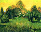 Vincent van Gogh, Public Park with Weeping Willow: The Poet's Garden I, 1888, oil on canvas, 28.7 x 36.2 in. / 73 x 92 cm, US$260