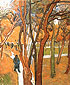 Vincent van Gogh, The Walk: Falling Leaves, 1889, oil on canvas, 28.9 x 23.8 in. / 73.5 x 60.5 cm, US$275