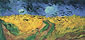 Vincent van Gogh, Wheat Field with Crows | Auvers-sur-Oise, | Wheat Field Under Threatening Skies | Wheat Field with Ravens, July 1890, (JH 2117), oil on canvas, 19.9 x 40.6 in. /50.5 x 103 cm, US$350